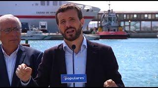 """Casado pide votar el 10N al """"partido que evita las crisis"""""""