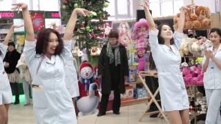 "Рекламный флешмоб для ""Аптеки Плюс"" | FreshMOB Agency (www.freshmob.kz) | Алматы | Казахстан |"