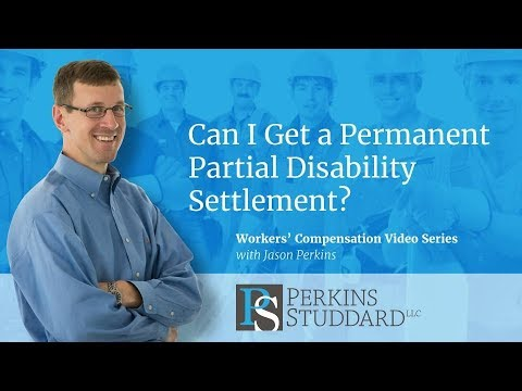 Can I Get a Permanent Partial Disability Settlement?