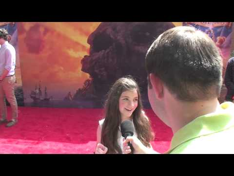 Eva Bella Discusses Possible Future Frozen Short at Premiere of The Pirate Fairy