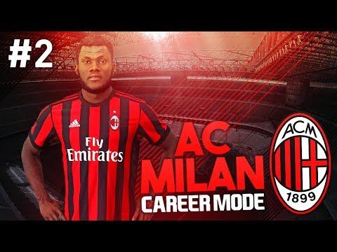SERIE A SEASON BEGINS! AC MILAN CAREER MODE #2 (FIFA 17)