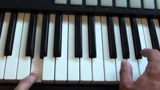 How to play Beneath Your Beautiful - Labrinth ft. Emeli Sande - on piano