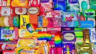 🌈 Chasing Rainbows 🌈 ASMR Soap Haul: Unboxing Unpacking Opening International Soaps, Relax & Sleep 🌈
