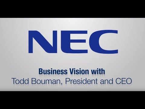NEC Display CEO Shares Vision For Digital Signage Industry