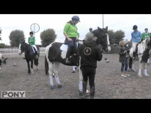 The PONY girls learn to play horseball! | PONY Magazine