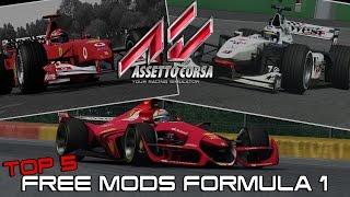 Top 5 Free Mods Formula 1 - Assetto Corsa Download