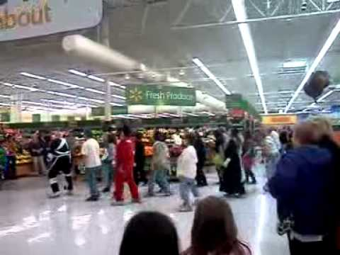 Thriller Flasmob at Walmart!