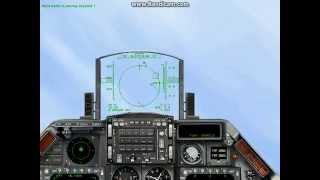 F-16 vs Mig-29 Dogfight (1998 Janes IAF)