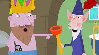 Ben and Holly's Little Kingdom Full Episode 🌟 Plumbing at the Little Castle| Cartoons for Kids