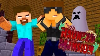 Minecraft Haunted Mansion - The Haunted Mansion (Minecraft Roleplay) Ep.1