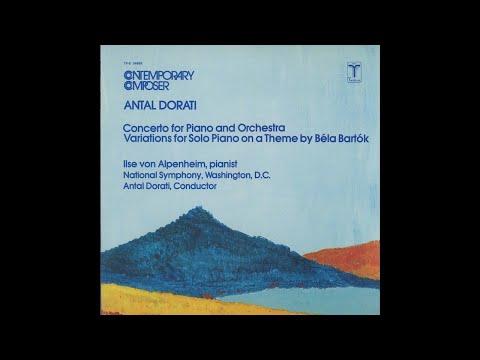 Antal Dorati:  Concerto for Piano & Orchestra (1974)