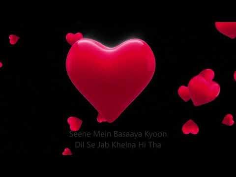 Dil mera churaya kyu (Lyrics) ! Heart touching sad song