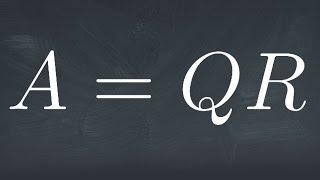 The QR Decomposition
