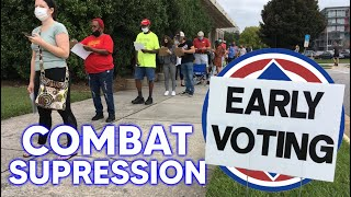 How Democrats Can Combat Voter Suppression Electorally