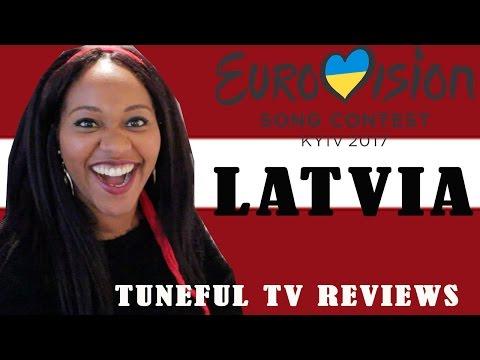 Eurovision 2017 - LATVIA - Tuneful TV Reaction & Review