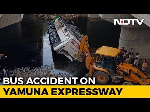 29 Dead After Bus Skids Off Yamuna Expressway Near Delhi, 17 Injured