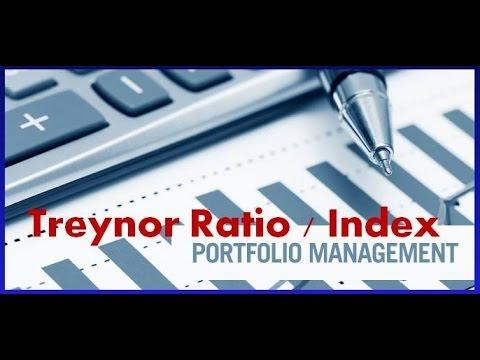 Calculating Treynor Index   Treynor Ratio