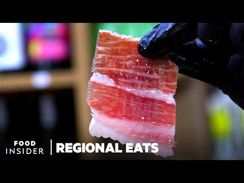 Why Spanish Iberian Ham Is The World's Most Expensive Cured Meat | Regional Eats