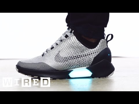 Meet the HyperAdapt, Nike's Awesome New Power-Lacing Sneaker | WIRED