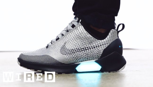 designer fashion fea76 bc641 Meet the HyperAdapt, Nike s Awesome New Power-Lacing Sneaker   WIRED