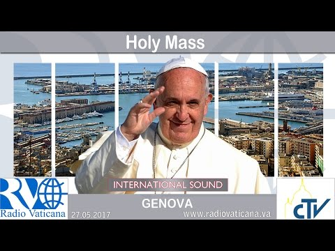 2017.05.27 Pope Francis in Genoa - Eucharistic Concelebration