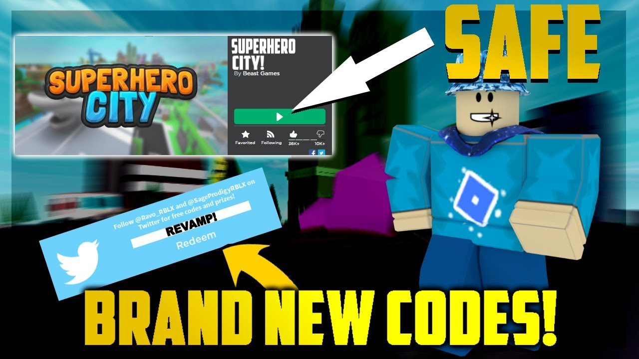 Roblox: YOU CAN PLAY SUPERHERO CITY SAFE NOW! + TWO BRAND