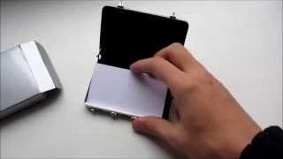 Business card holder suitcase / Визитница-чемодан