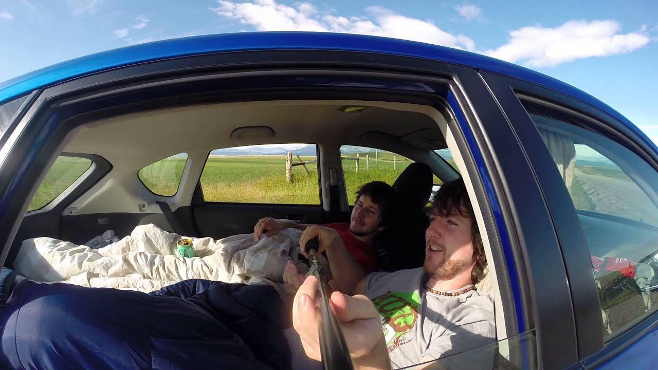 Subaru Impreza 08 Hatchback sleeping  YouTube