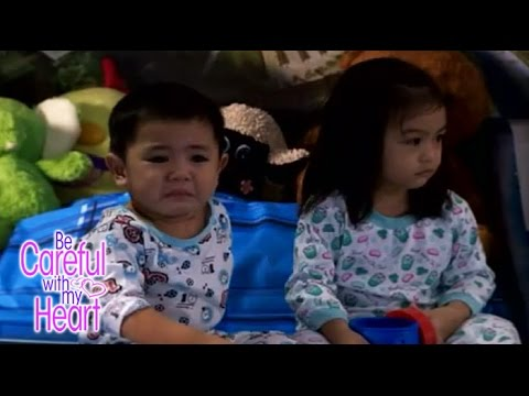 BE CAREFUL WITH MY HEART: Magtatampo ang Baby!