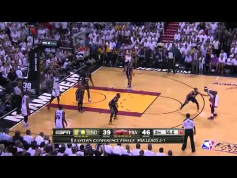 Indiana Pacers 90 x 102 Miami Heat Game 4 Final NBA 2013/2014