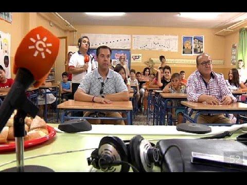 Canal Sur Radio desde el colegio más antiguo de Andalucía