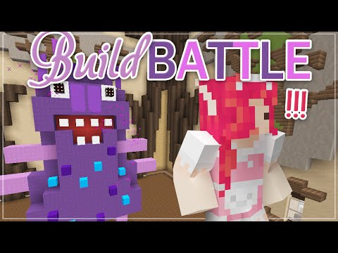 Minecraft BUILD BATTE ♡ MONSTER!