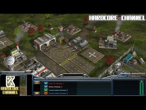 Command & Conquer Generals Zero Hour - бои с подписчиками =1=