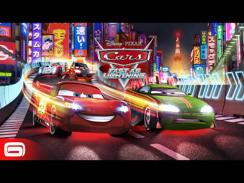 Cars: Fast as Lightning - Neon Racing!