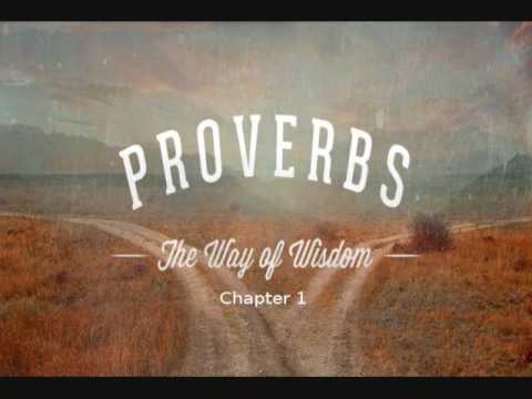 Proverbs - Chapter 1 - (Book of Yahweh) - Audio