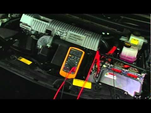 Hybrid AC Compressor Fuse Tech Tip  YouTube
