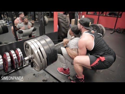 Simeon Panda & Bradley Martyn HARDCORE LEGS DAY