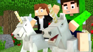 O UNICÓRNIO MAIS BONITO DO MINECRAFT - SPOK vs DAVI GAMER
