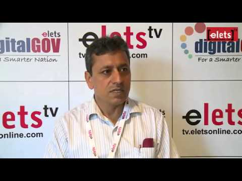 elets Digital Gov Summit'15   Interview   Dr. Omkar Rai, DG, STPI