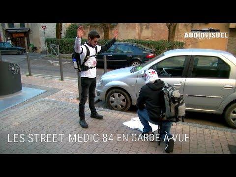 Les Street Médic 84 en garde à vue - Reportage Interview