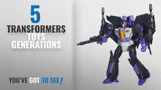 Top 10 Transformers Toys Generations [2018]: Transformers Generations Leader Skywarp Action Figure