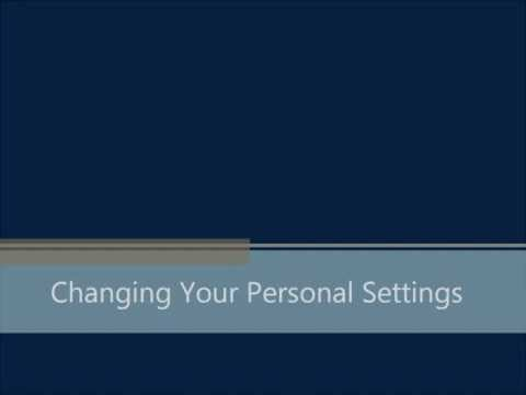 Change your Personal Settings with Mobile Banking