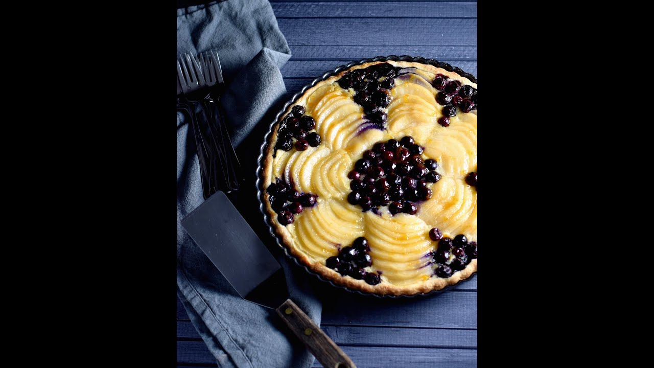 Pear and Almond (Frangipane) Tart Recipe | Truffles and Trends ...