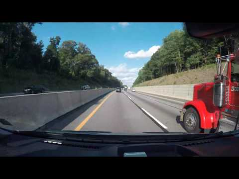 Turkey Hill Experience PA to Staten Island NY 07/29/2016 Timelapse