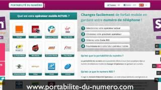 Portabilité du numéro | Obtenir Gratuitement votre Numéro RIO Orange, RIO SFR, RIO Bouygues...(, 2012-06-07T17:36:59.000Z)