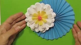 Подарки-Поделки Маме Учителю своими руками на день матери,8 Марта.Лотос Лилия Цветы Из Бумаги