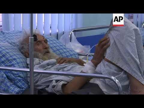 Injured in hospital after Kabul suicide blast