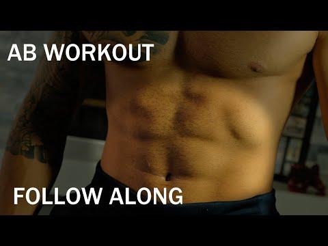 7 Min || Follow Along Ab Workout || No equipment