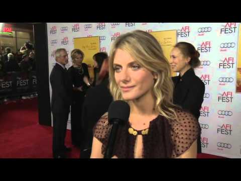 By The Sea: Melanie Laurent Red Carpet AFI Movie Premiere Interview