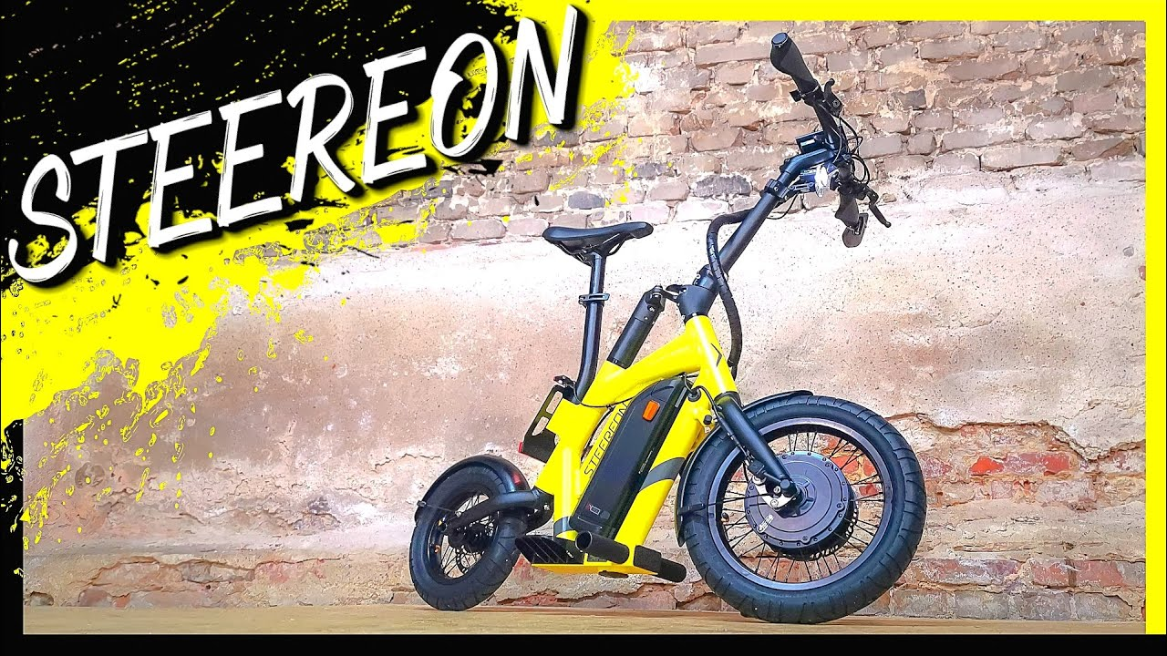 STEEREON S20-S25 ⚡ Besser als ein E-BIKE? ⚡ E-Scooter, E-Roller, E-Bike Hybrid, Unboxing (DEU-GER)